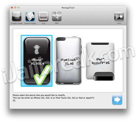 jailbreak iphone ipad ipod touch and apple tv pwnagetool jailbreak tool guide for iphone ipad ipod