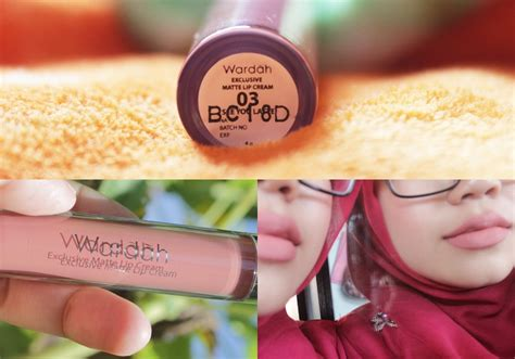 Wardah New You new wardah exclusive matte lip 03 see you latte
