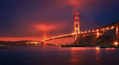 golden gate bridge sunset  golden gate bridge  suns flickr