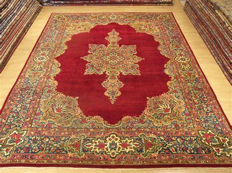 9x12 Handmade Carpet Antique Persian Laver Kerman Rug Ebay Kerman Rug