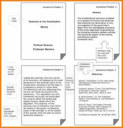 8 exles of apa format papers resume reference