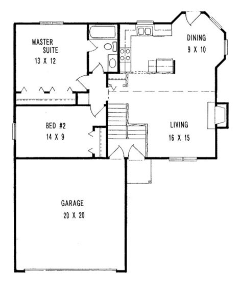 simple 2 bedroom house floor plans unique 2 bedroom tiny house plans 5 simple small house