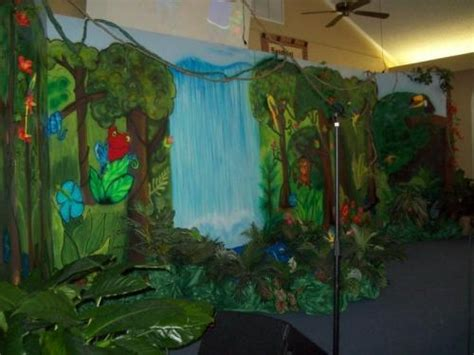 jungle theme decoration ideas jungle safari vacation bible school decorating ideas