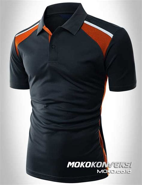design kaos golf polo shirt sporty moko konveksi