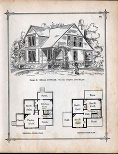 1881 print victorian cottage architecture floor plans victorian stick style house house plans 1878 see the