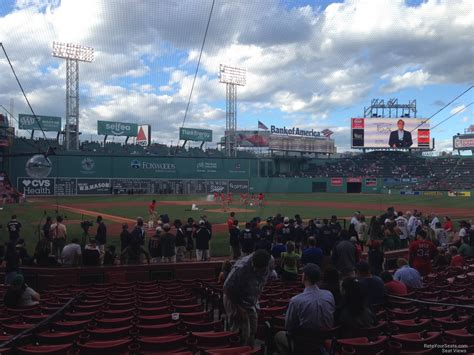 Section 42 Fenway Park by Fenway Park Field Box 42 Rateyourseats