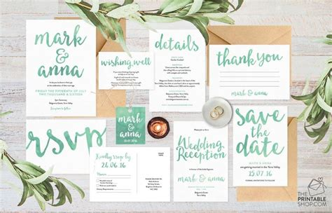 Wedding Invitation Stationery Sets by Wedding Invitation Set Wedding Invitation Suite Wedding