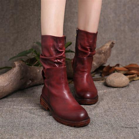 Retro Handmade Leather Shoes Buykud - 2016 new autumn and winter original design handmade