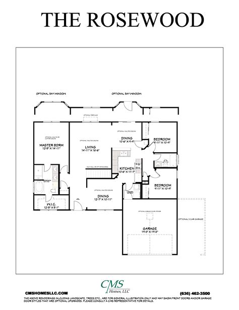 rosewood floor plan rosewood cms homes