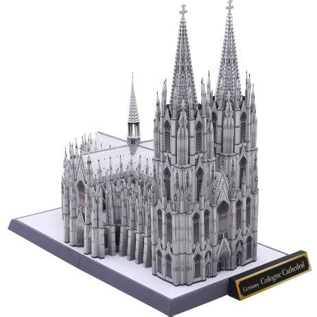 paper craft buildings canon papercraft cologne cathedral k 246 lner dom free
