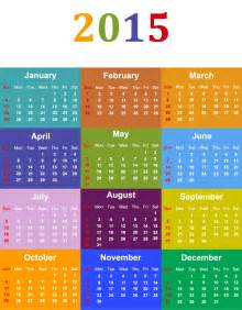 free printable calendar 2016 yearly color calendar
