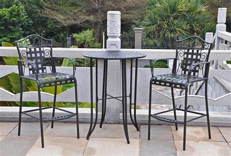 Patio Cushions For Wrought Iron Complimenting Patio With Wrought Iron Patio Furniture