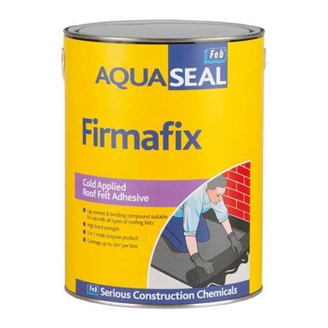 Aqua Seal aquaseal firmafix roof felt adhesive 25 litres roofing superstore 174