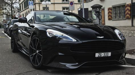 Aston Martin Black by Black Aston Martin Vanquish Wallpapers And Images