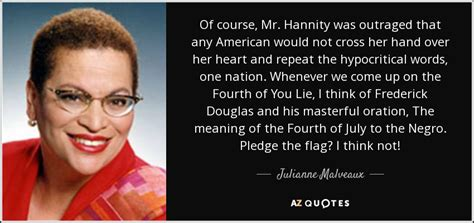 Julianne Lightens Up What Do You Think Of New Look by Julianne Malveaux Quote Of Course Mr Hannity Was