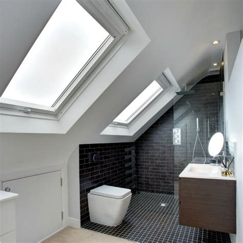 loft bathrooms images 25 loft conversion interior designs messagenote