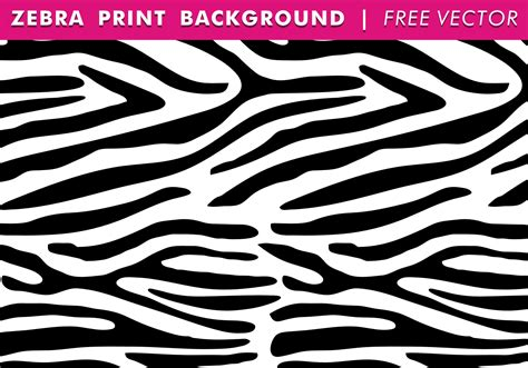 printable vector images zebra print background free vector download free vector