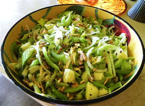 celery salad my hawaiian home celery salad