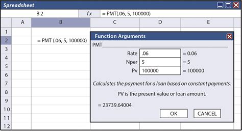 lease amortization schedule equipment payment excel calculator