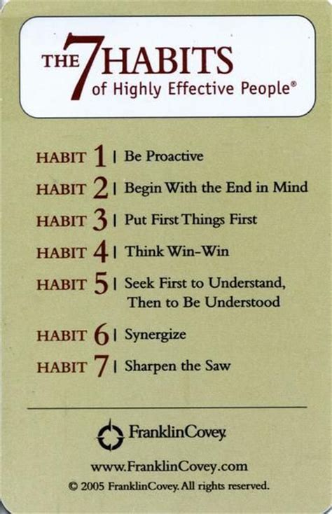 7 Habitsof Highly Efecktive the 7 habits of highly effective pictures photos