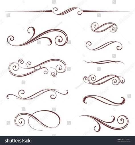 html layout scroll vectorized scroll design elements can be ungrouped for