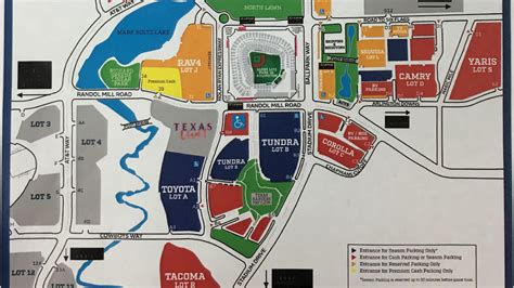 texas rangers ballpark parking map parking at a rangers this season pay with your phone or a credit card wfaa