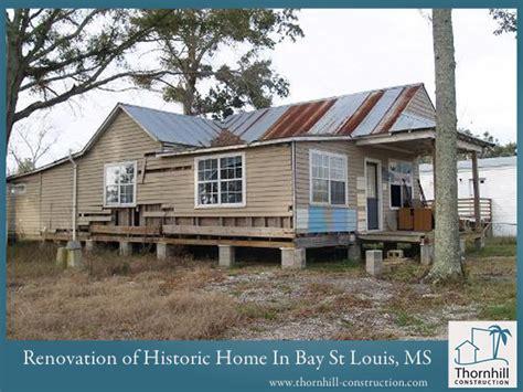 historic home renovations on gulf coast custom home