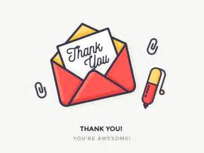thank you by justas galaburda dribbble