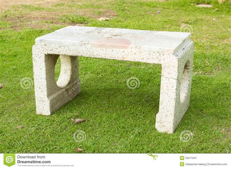 marble garden bench marble garden bench stock photo image 52511941