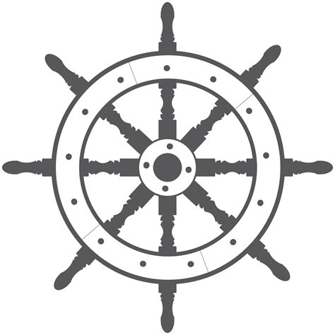 boat steering wheel tattoo ship wheel vector by metaldan deviantart on