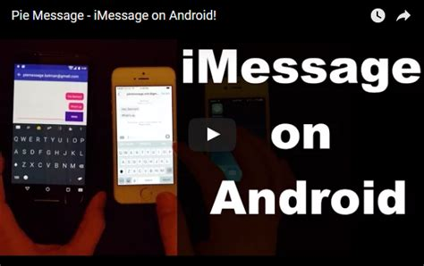 how to imessage on android imessage for android how to use imessage on android