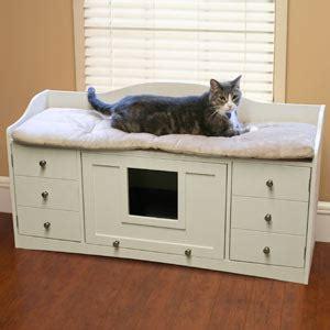 cat litter box covers furniture