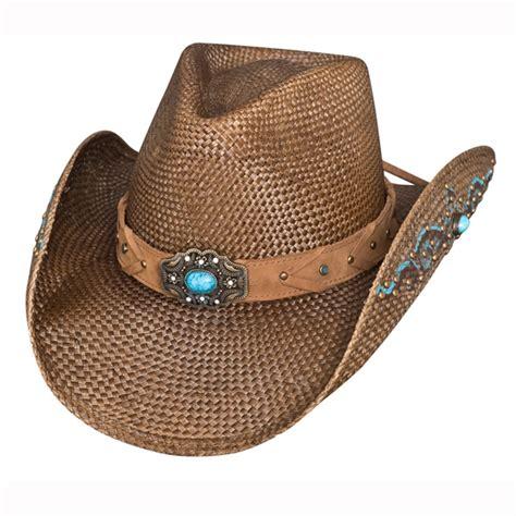 amnesia womens straw cowboy hat