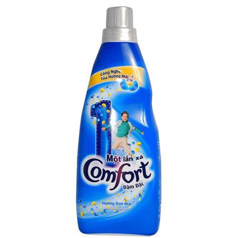 comfort one nước xả comfort 1 lần xả hương ban mai 800ml