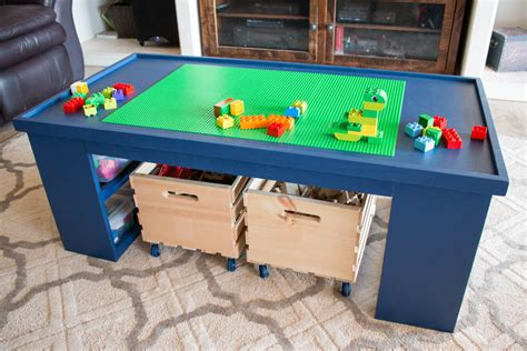 diy toddler lego table diy 4 in 1 activity table a ryobi power tools giveaway