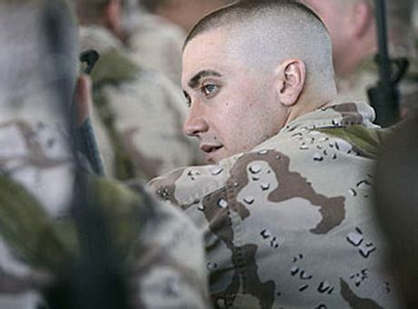 jake gyllenhaal high and tight jarhead haircut