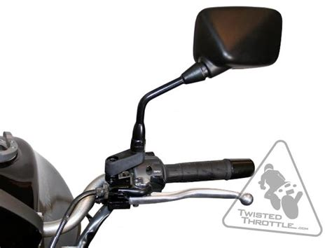 bmw k1200rs mirrors sw motech mirror extenders for select bmw motorcycles with