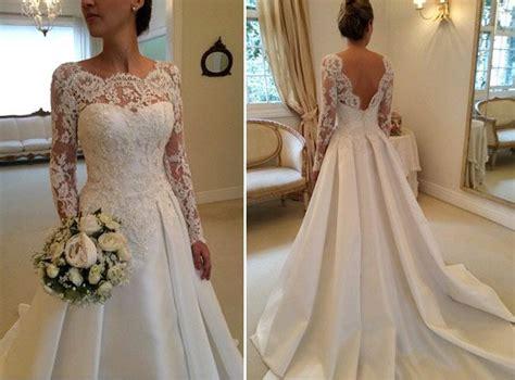 25  melhores ideias sobre Vestidos de noiva de renda no