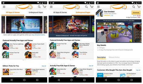 amazon underground app amazon replaces free app of the day with new underground app