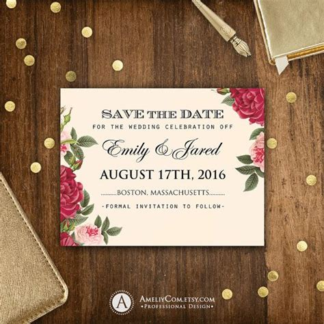 diy save the date postcard templates 1000 ideas about save the date templates on