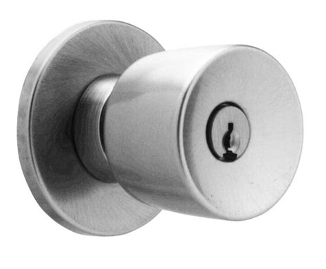 Office Door Knobs by Falcon X521pdtg Keyed Entry Satin Chrome Knobset Single
