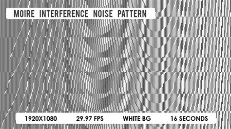 interference pattern video moire interference noise pattern by vf videohive