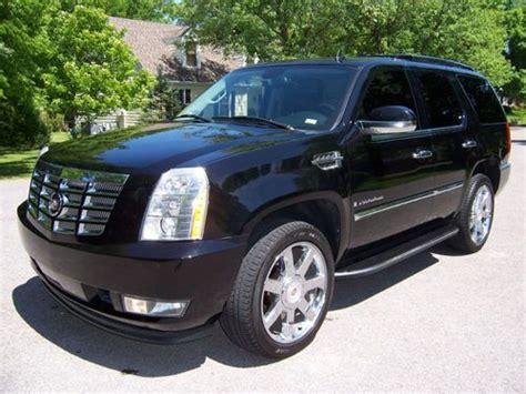 how petrol cars work 2007 cadillac escalade electronic toll collection sell used 2007 cadillac escalade fully loaded in ballston spa new york united states
