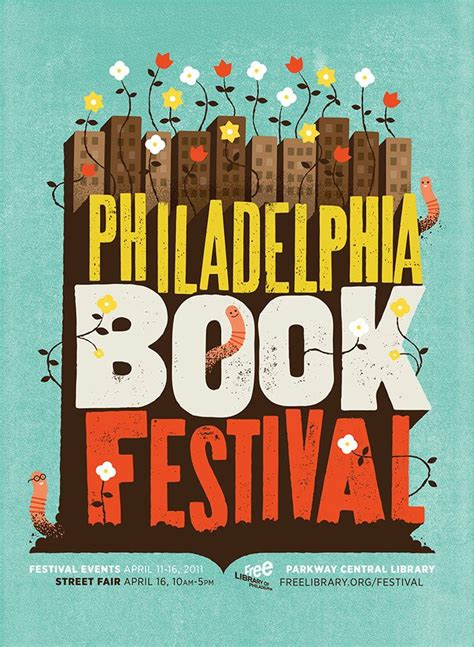 p is for philadelphia books philadelphia book festival illustration