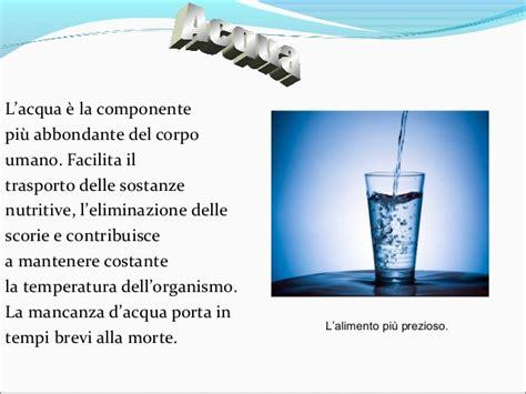 acqua e alimentazione alimentazione cibi sani e alimentazione corretta