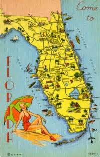 florida memory map of florida pointing out various