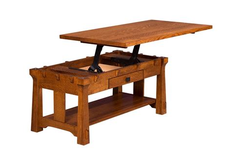 Amish Lift Top Coffee Table Amish Manitoba Coffee Table With Lift Top