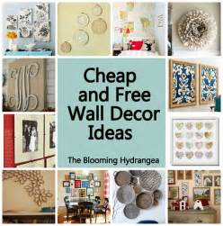 inexpensive wall cheap free wall decor ideas roundup