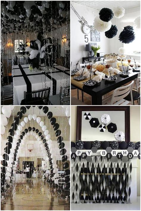 themes for all black parties best 20 white party decorations ideas on pinterest gold