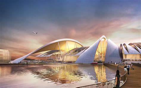 platov airport rostov on don russia twelve architects